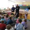 Wizyta funkcjonariuszy w szkole