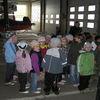 Przedszkolaki i pierwszoklasiści z Łyny odwiedzili nidzickich strażaków