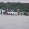 Zmagania żeglarzy na jeziorze Roś