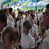 Uczniowie tańczyli poloneza