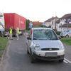 Rowerzysta uderzył w samochód