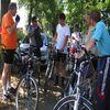 Rowerzyści z Iławy odwiedzili pola Grunwaldu
