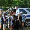 Odwiedziny policjantów