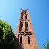 Pieniężno, wieża kościoła poewangelickiego