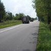 Kolizja na drodze do Leszna