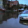 Braniewo, zalana ul. Kołłątaja