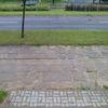 Chodnik na Dworcowej w Olsztynie
