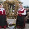 Wieńce na dożynkach w Kazanicach i na Jasnej Górze