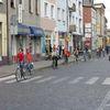 Wycieczką ekologiczną zachęcali do korzystania z rowerów
