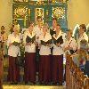 Dożynki parafialne w Łąkorzu