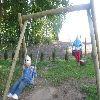 Maluszki na placu zabaw w Rakowicach