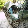 Frombork, uderzył w Fiata