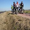 Stowarzyszenie Cyklistów Ventyl na nowej ścieżce rowerowej z Niborka do Łyny