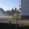 SZREŃSK: Pożar strawił piętro domu w Garkowie Starym
