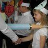 Ślubowanie pierwszaków w szkole w Sątopach