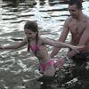 Morsy z Bisztynka rozpoczęły sezon zimowych kąpieli