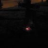 Wieczorem na cmentarzu w Bisztynku