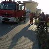 Mława: Pożar w mieszkaniu. Poszkodowany 75 - letni mężczyzna