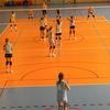 Zawodniczki MUKS Omega Mrągowo podczas turnieju w Iławie