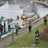 Pożar na statku - kilka osób poszkodowanych