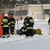 Strażacy ćwiczyli w mleczarni