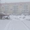 Olsztyńskie drogi pokryte śniegiem