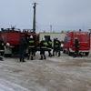 WIECZFNIA KOŚCIELNA: Manewry strażackie w fabryce Poliuteranu