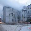 Pożar przy ul. E. Orzeszkowej