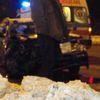 wypadek na skrzyżowaniu przy