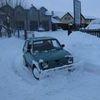 Mieszkańcy radzą sobie ze śniegiem