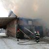 Pożar w Olszynce