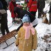 Siemiany. Kulig i ognisko dla dzieci