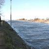Braniewo, okolice — wysoka woda