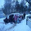 Braniewo, przedszkolaki w ZOO