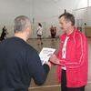Turniej piłki siatkowej4-osobowej w LO w OLecku
