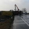 Wypadek na E7. Trasa zablokowana