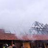 Nowa Wieś: Ogień strawił dach stolarni