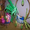 Wielkanocna wystawa prac dzieci i seniorów