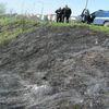 Płonęły trawy na Podleśnym