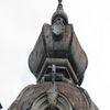 Olsztyn: niszczejąca kamienica na rondzie Bema