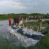 Strażacy z Bartoszyc pomagali powodzianom