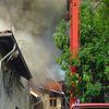 Pożar zakładu szkutniczego