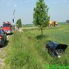 Wypadek na skrzyżowaniu Korsze - Reszel