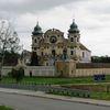 Krosno: kościół z zewnątrz