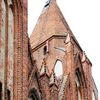 Orneta: kościół św. Jana Chrzciciela i św. Jana Ewangelisty z zewnątrz