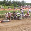 Ponad setka motocrossowców ścigała się w Ostródzie