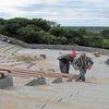 Budowa amfiteatru w Kurzętniku