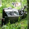Wypadek na drodz Frombork - Narusa