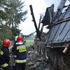Pożar domu jednorodzinnego w Karwiku