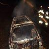 Narusa: spalony samochód